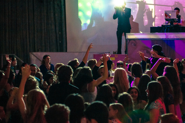 Bar Mitzvah and Bat Mitzvah DJ Events in Los Angeles with Large Screens