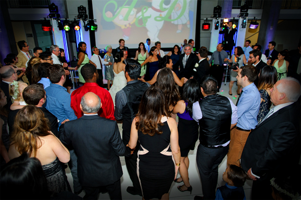Spotlight LA provides the best dj entertainment to any size wedding event.