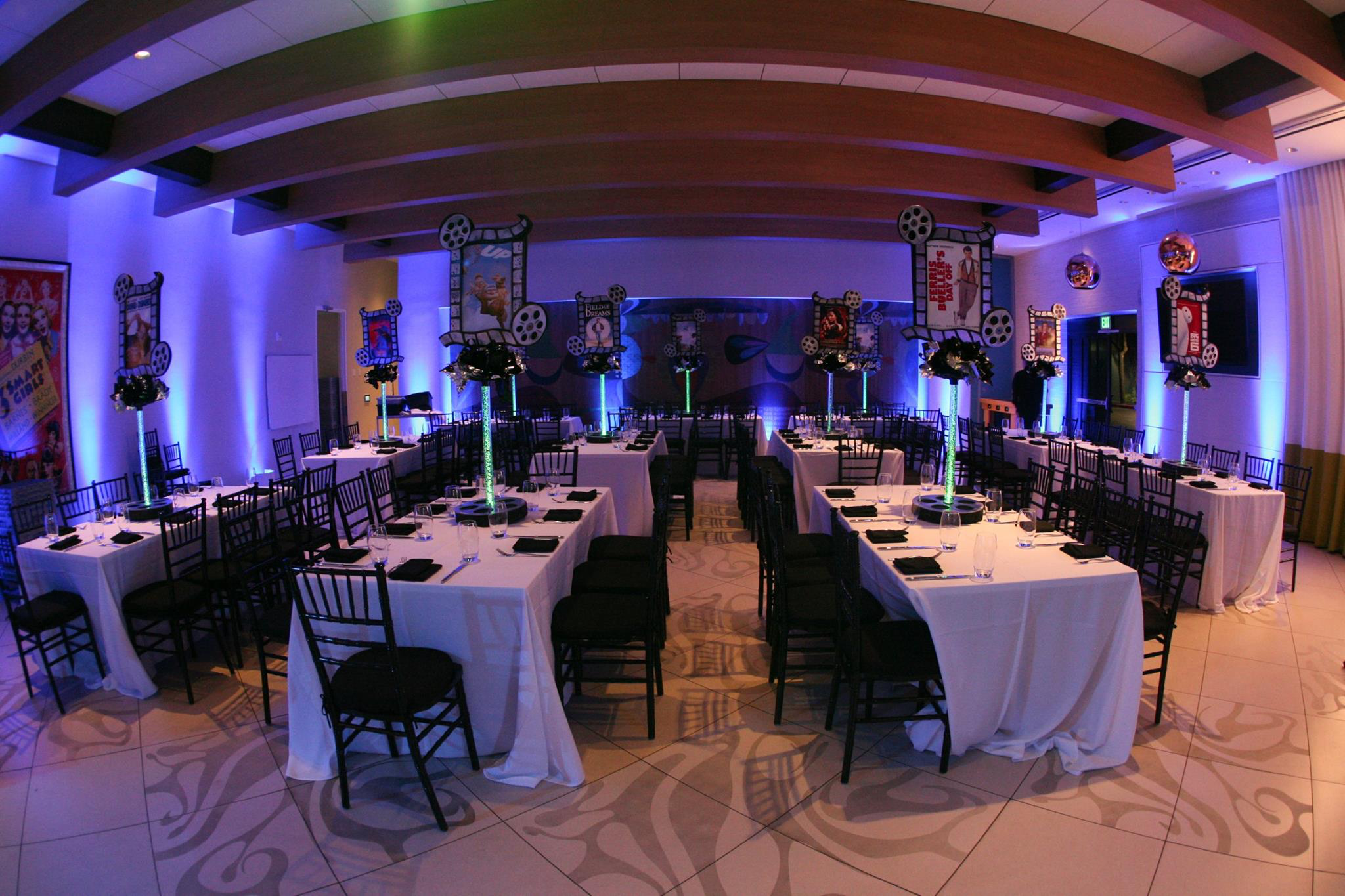 We love working with DB Creativity to customize your Los Angeles Bar Mitzvah DJ and Bat Mitzvah DJ Experiences through amazing Decor and ideas.